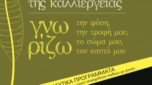 ΕΚΠΑΙΔΕΥΤΙΚΑ ΠΡΟΓΡΑΜΜΑΤΑ 2017-2018