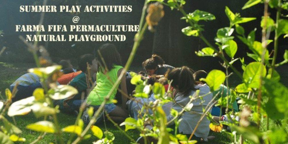 Καλοκαίρι στο Αγρόκτημα , εξερευνώντας και παίζοντας στη φύση